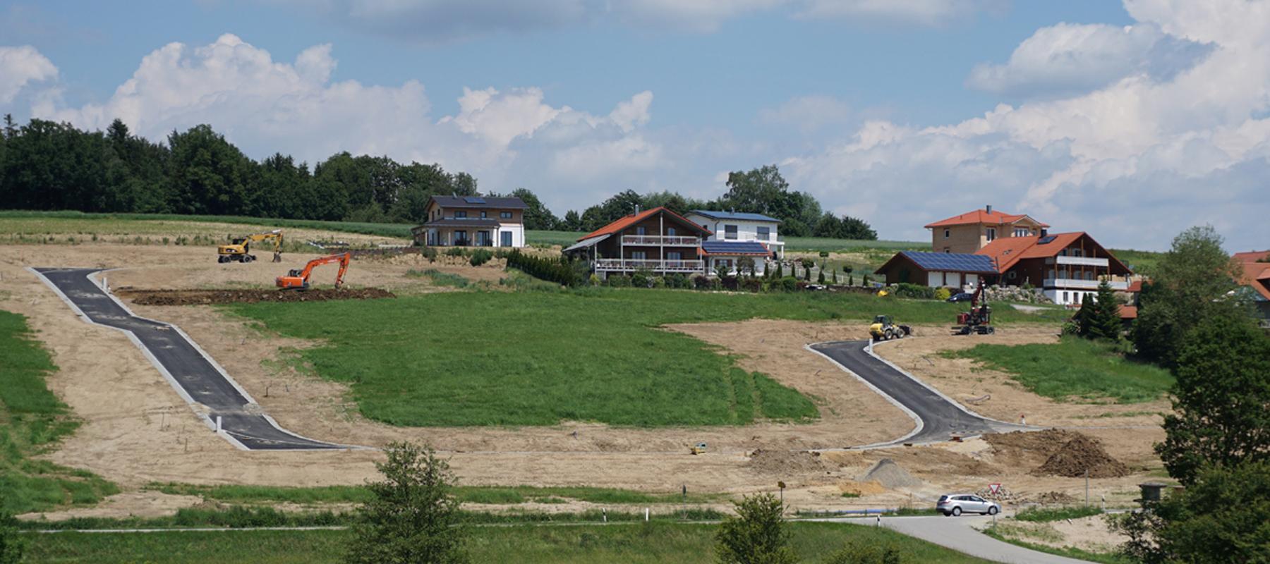 Sonnleitner Ortenburg baugebiet unteriglbach nähe ortenburg sonnleitner de bauen sie