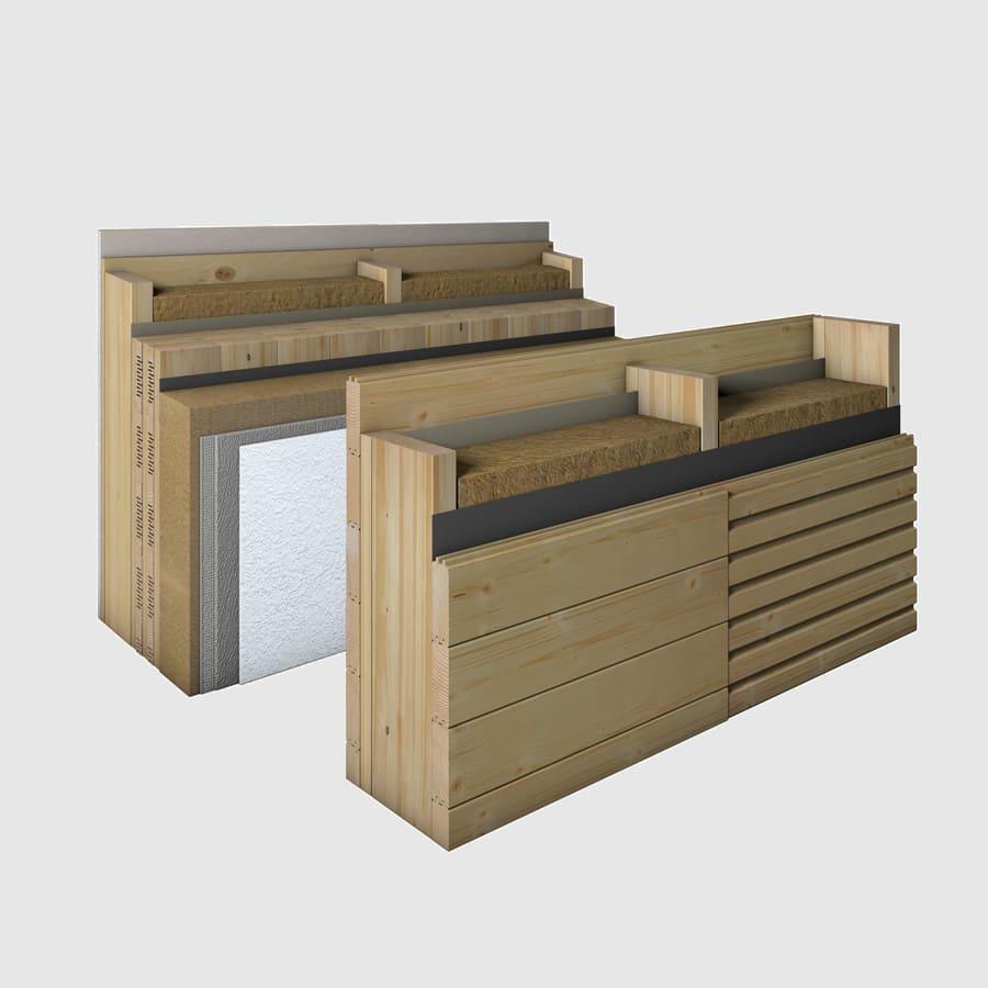 monoligna und twinligna wandsysteme bauen sie ihr holzhaus passivhaus. Black Bedroom Furniture Sets. Home Design Ideas