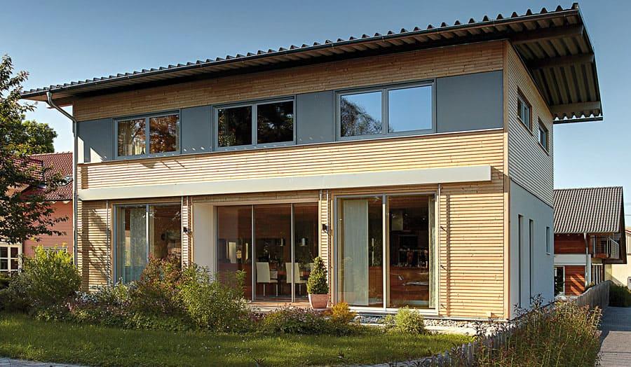 360 ansichten bauen sie ihr holzhaus passivhaus. Black Bedroom Furniture Sets. Home Design Ideas