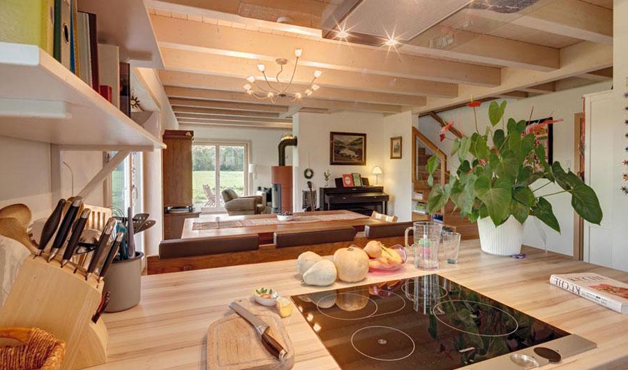 Moderne holzhäuser innen  Kundenhaus Attersee - Bauen Sie Ihr Holzhaus, Passivhaus ...