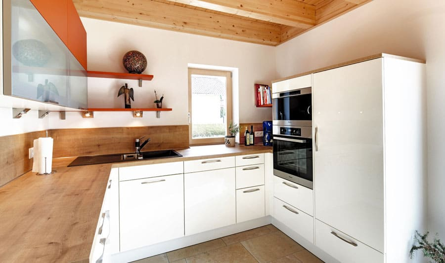 kundenhaus dreher ein holzhaus im modernen stil bauen sie ihr holzhaus. Black Bedroom Furniture Sets. Home Design Ideas