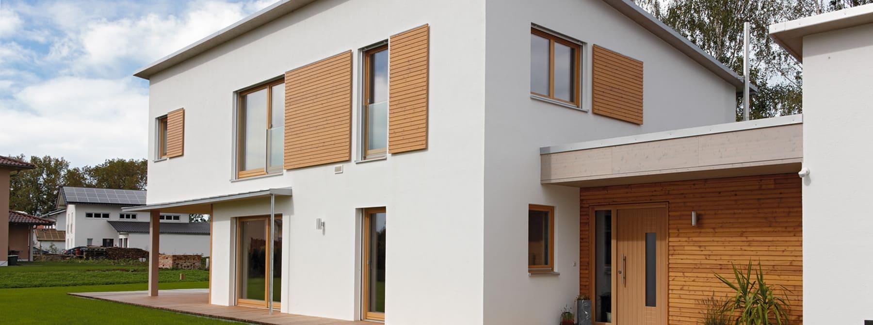 ^ Kundenhaus Dreher - ein Holzhaus im modernen Stil - Sonnleitner.de ...