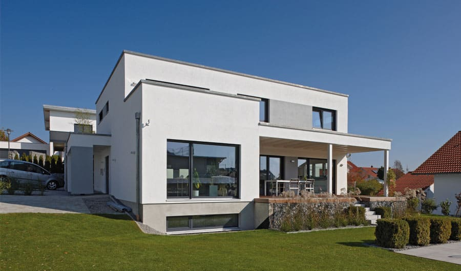 Haus Bauen Modern: Massivhaus o fertighaus preiswert bauen ...