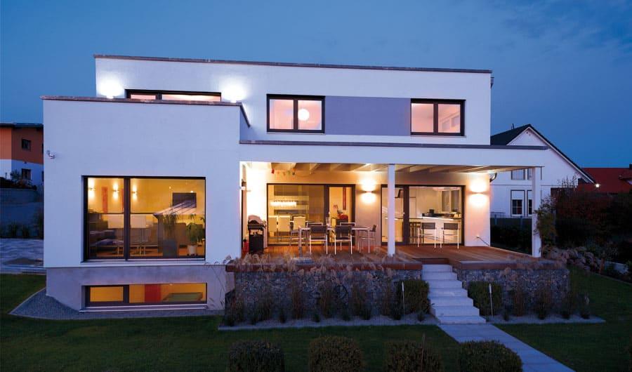 Kundenhaus felderer bauen sie ihr holzhaus passivhaus for Holzhaus modern bauen