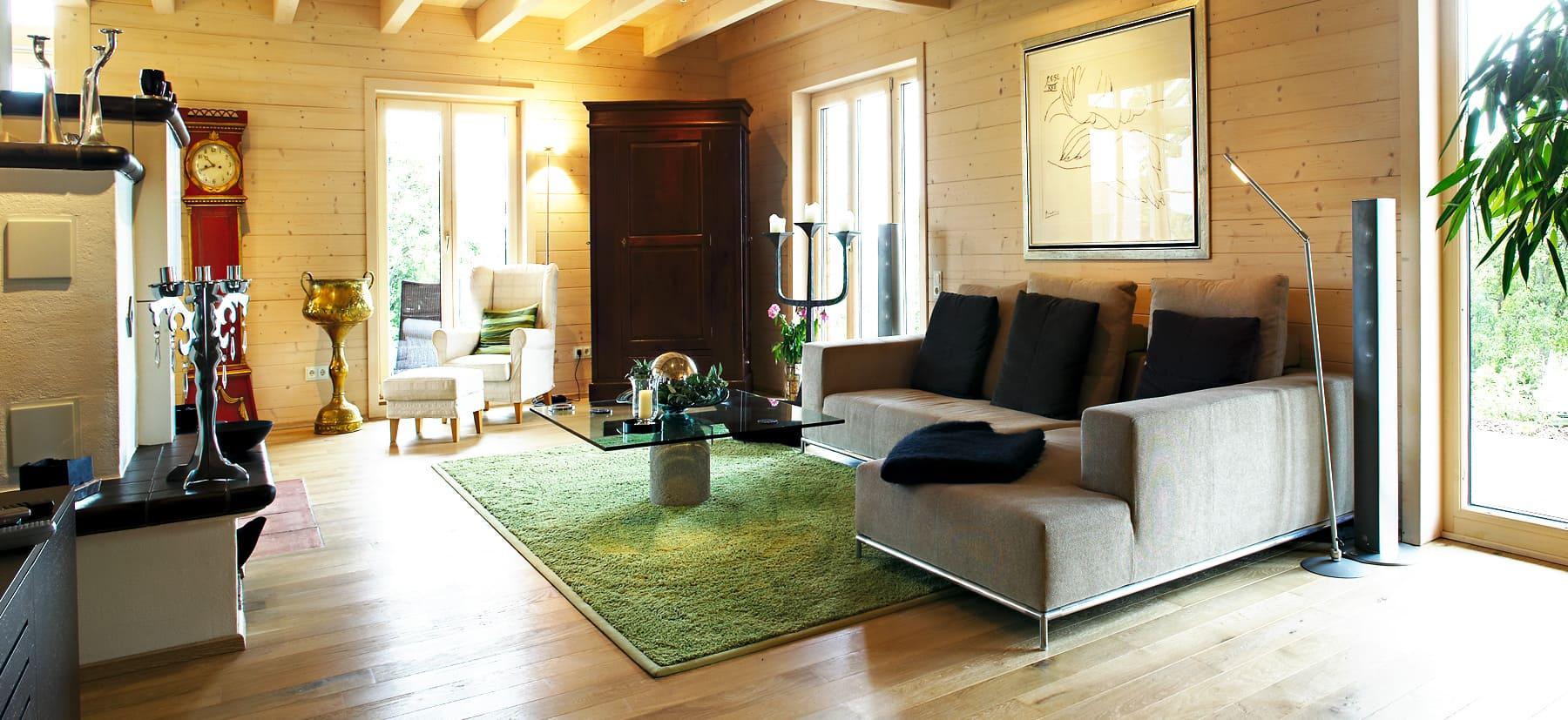 kundenhaus g ngerich ein elegantes holzhaus von bauen sie ihr holzhaus. Black Bedroom Furniture Sets. Home Design Ideas