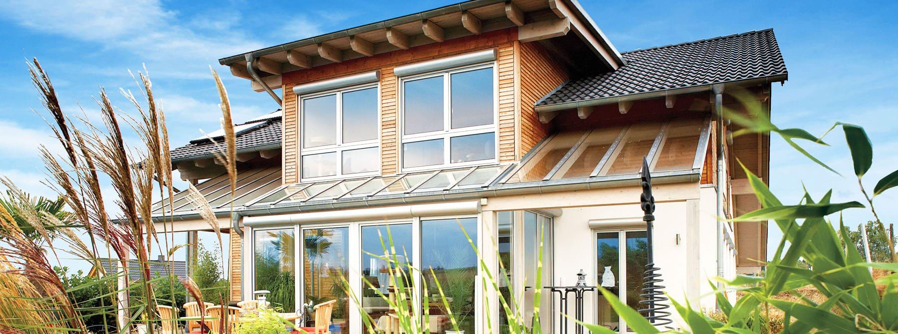 ^ Bauen Sie Ihr Holzhaus, Passivhaus, Plusenergiehaus mit ...