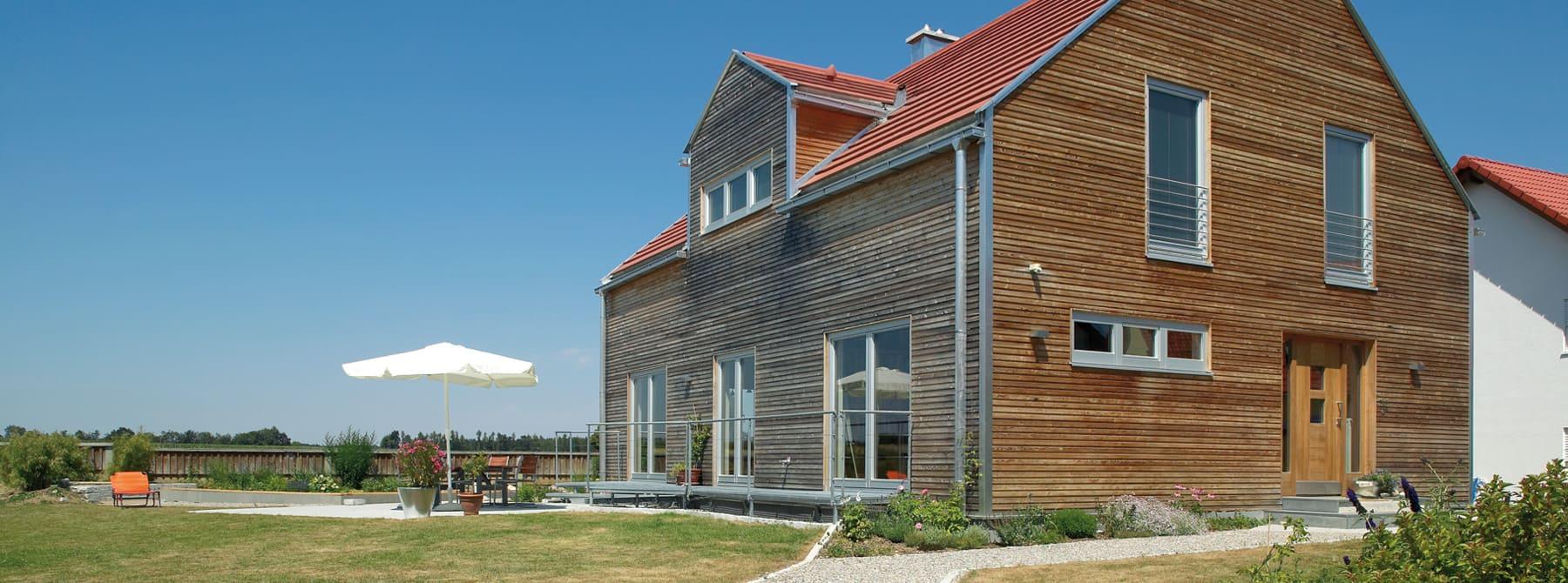 Bauen Sie Ihr Holzhaus Passivhaus Plusenergiehaus Mit Sonnleitner