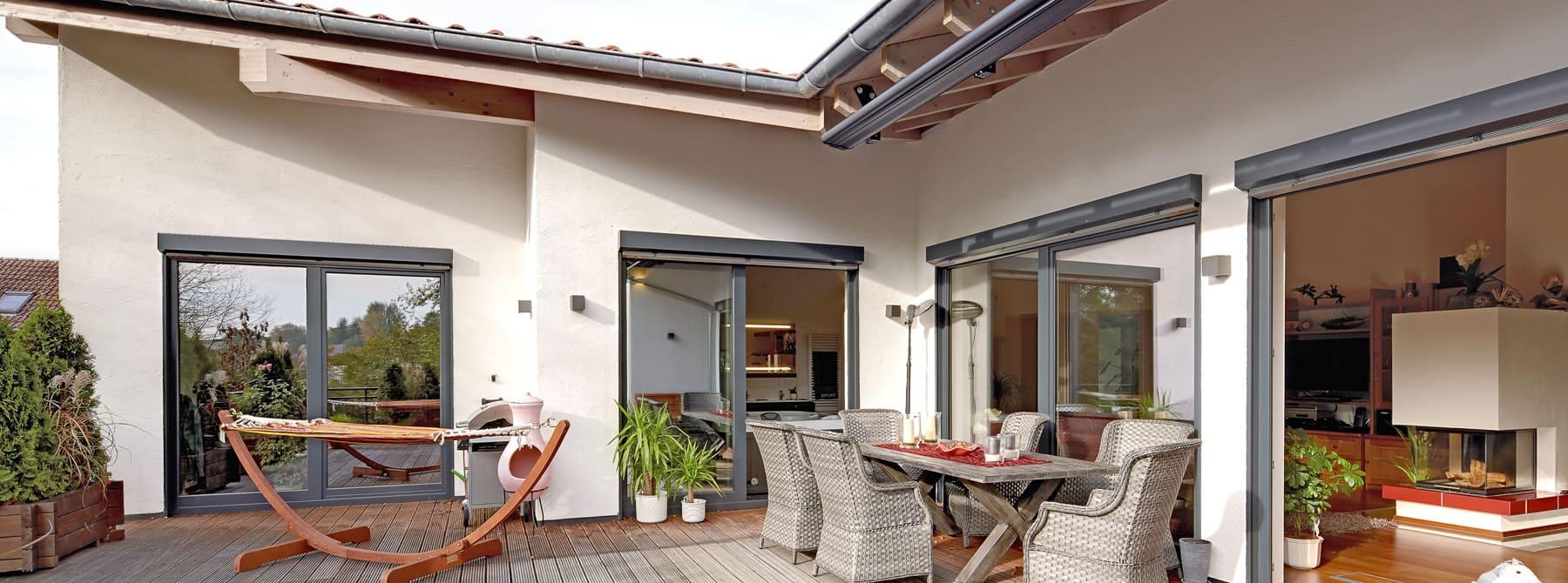 Bungalow Am Hang Bauen: Kundenhaus Langmeyer