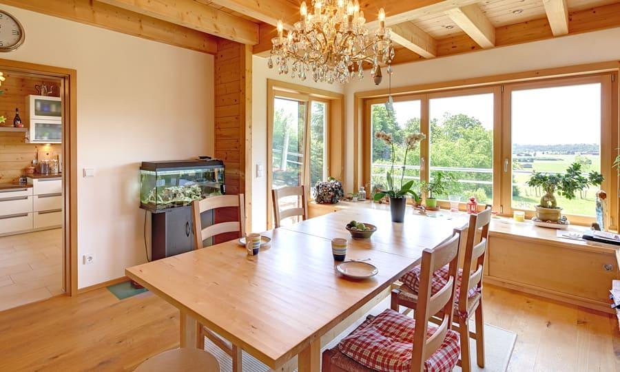 kundenhaus mailinger ein landhaus von bauen sie ihr holzhaus passivhaus. Black Bedroom Furniture Sets. Home Design Ideas