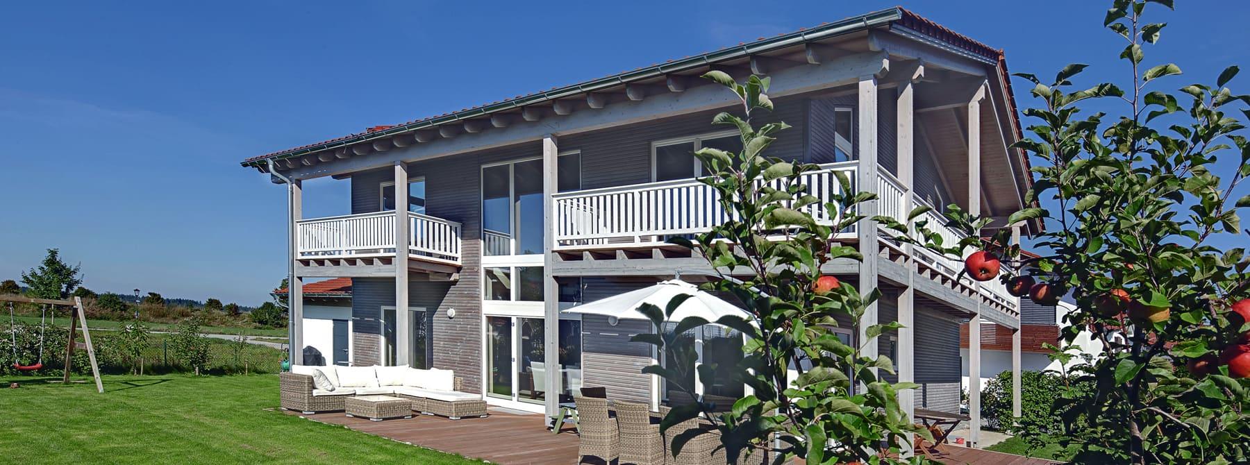 Holzhaus Modern Oberbayern