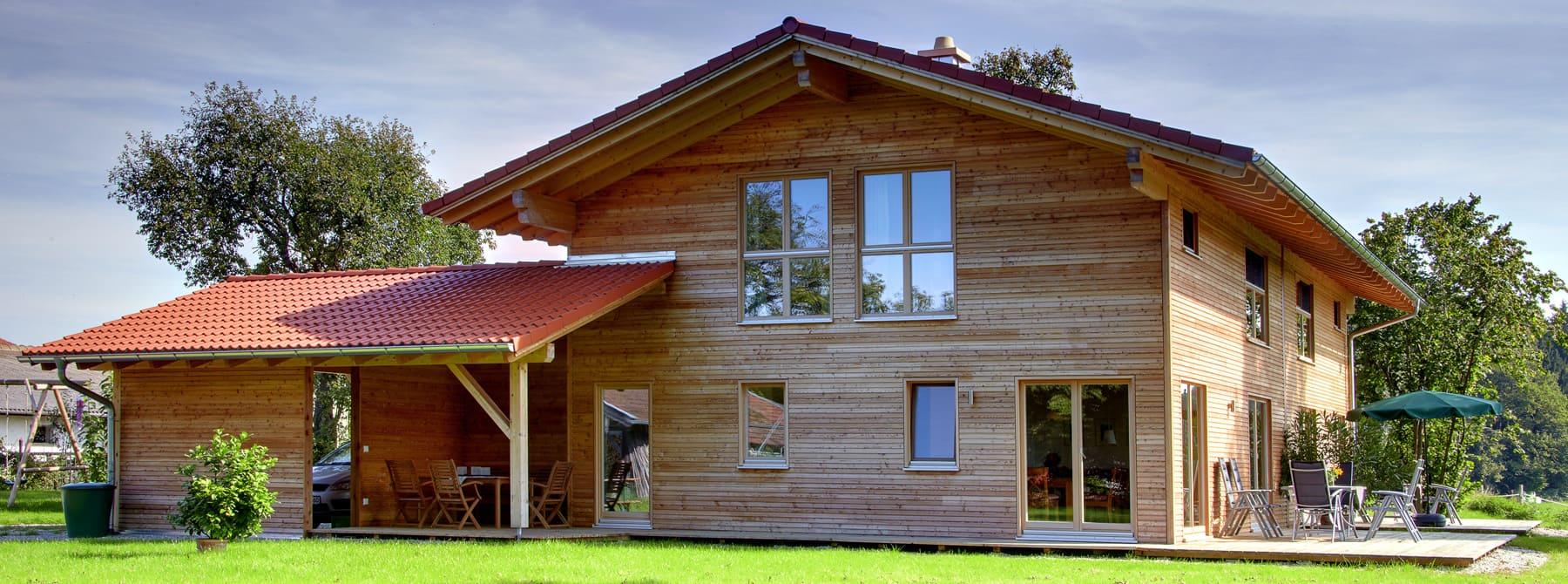kundenhaus schiefer ein landhaus von bauen sie ihr holzhaus passivhaus. Black Bedroom Furniture Sets. Home Design Ideas