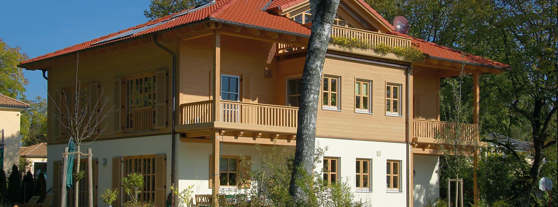 ^ Kundenhaus Seitz - ein elegantes Holzhaus von Sonnleitner.de ...