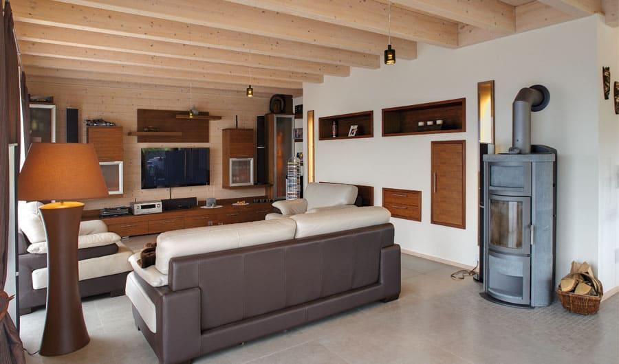 kundenhaus spanier ein elegantes holzhaus von bauen sie ihr holzhaus. Black Bedroom Furniture Sets. Home Design Ideas