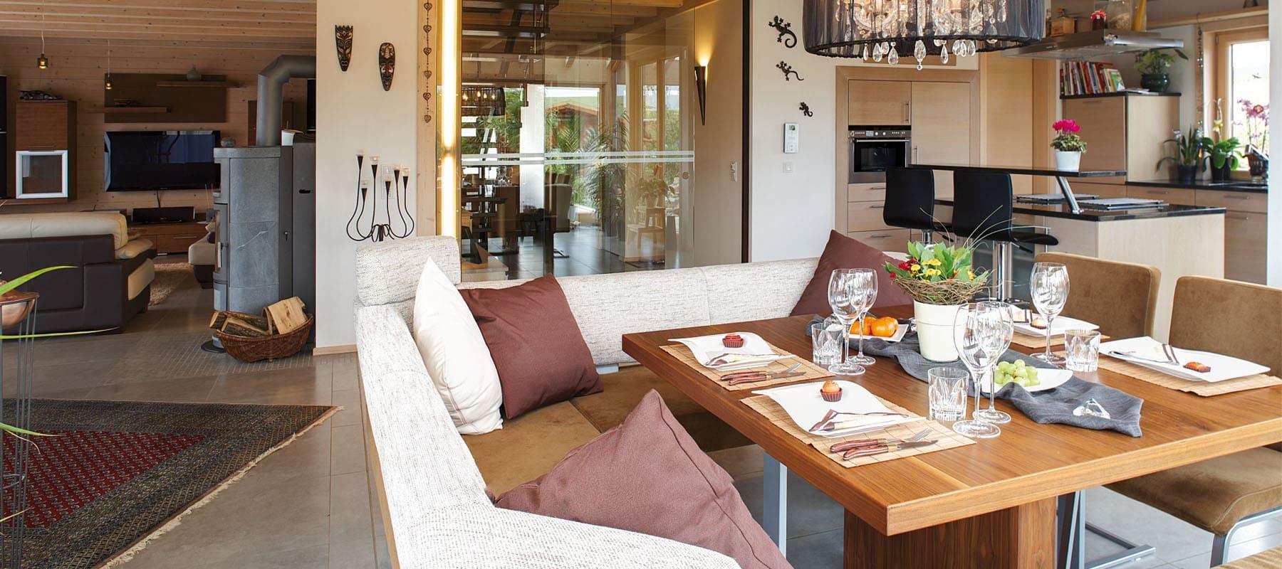 ^ Kundenhaus Spanier - ein elegantes Holzhaus von Sonnleitner.de ...