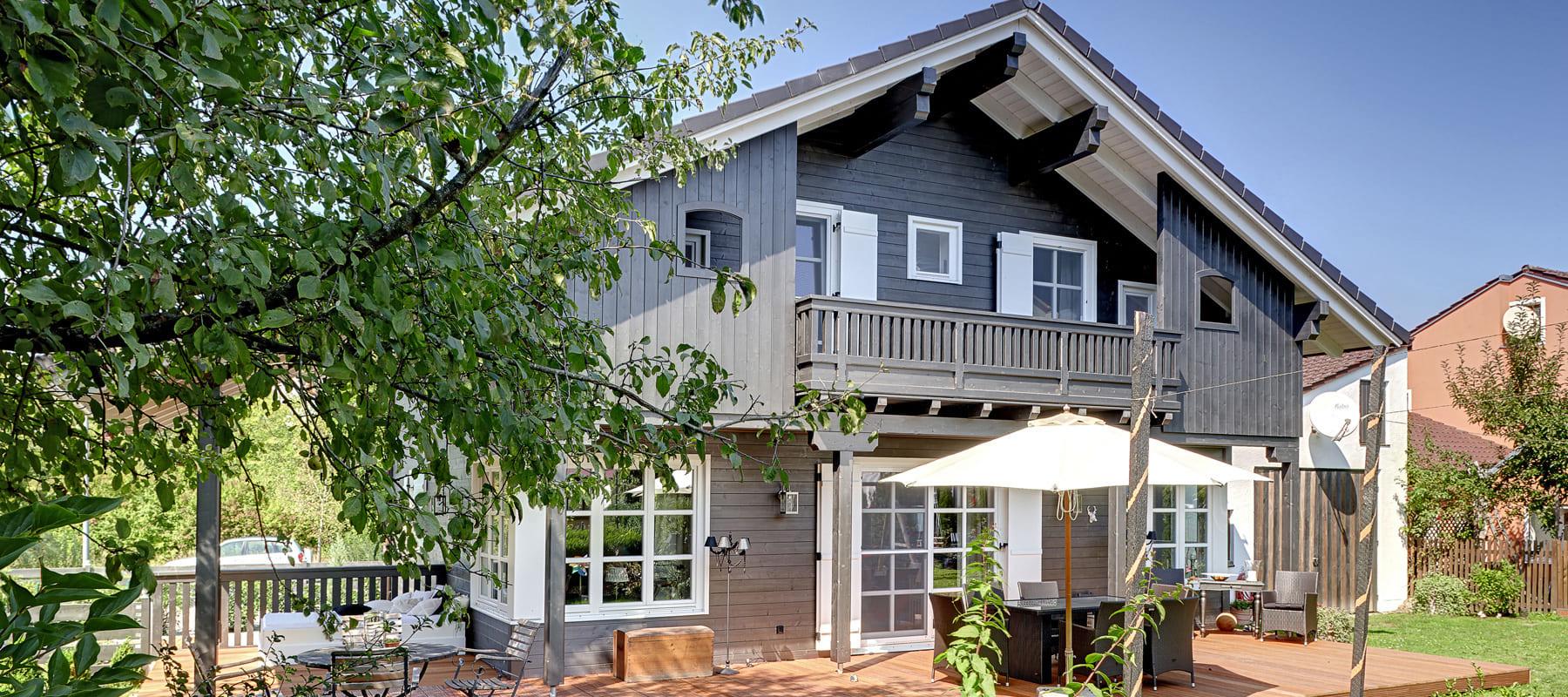 kundenhaus spielberger ein landhaus von bauen sie ihr holzhaus passivhaus. Black Bedroom Furniture Sets. Home Design Ideas