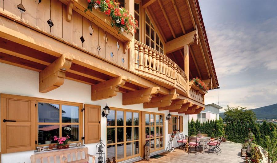Kundenhaus w hr ein landhaus von bauen for Haus bauen landhausstil
