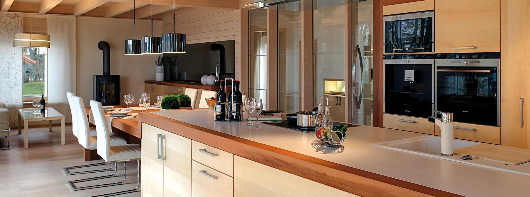 Küchen und Küchenmöbel aus Massivholz - Sonnleitner.de - Bauen Sie ...