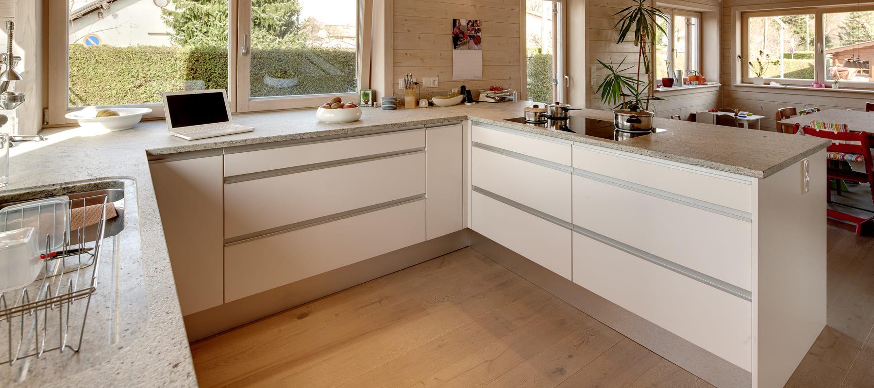 Dekorplatten küche  Küchen und Küchenmöbel aus Massivholz - Sonnleitner.de - Bauen Sie ...